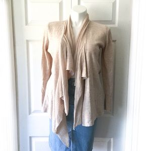 Anthropologie Sparrow Beige Merino Wool Cardigan